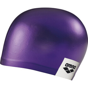 arena Logo Moulded Swimming Cap purple